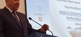 Президент Клуба  В.М.Черепов  и председатель Совета Клуба В.И.Сергиенко приняли участие в открытии  Российской недели здравоохранения.